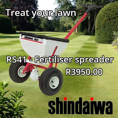 Shindaiwa - spoil yourself!